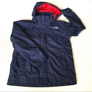 The North Face Navy HyVent Rain Jacket-S (7/8)